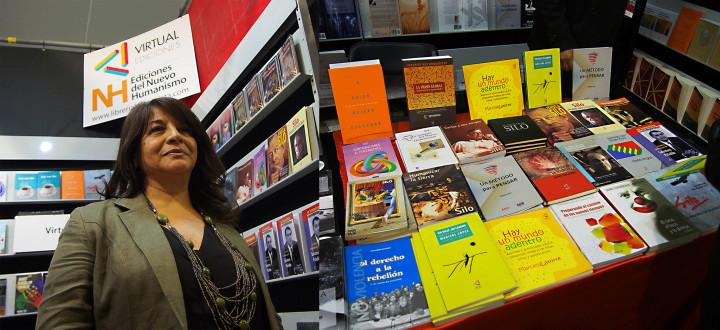 En la Feria Internacional del Libro de Santiago de Chile: Marisol López