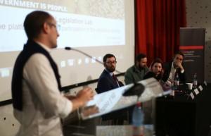 Asamblea Constituyente en foro sobre plataformas de participación ciudadana