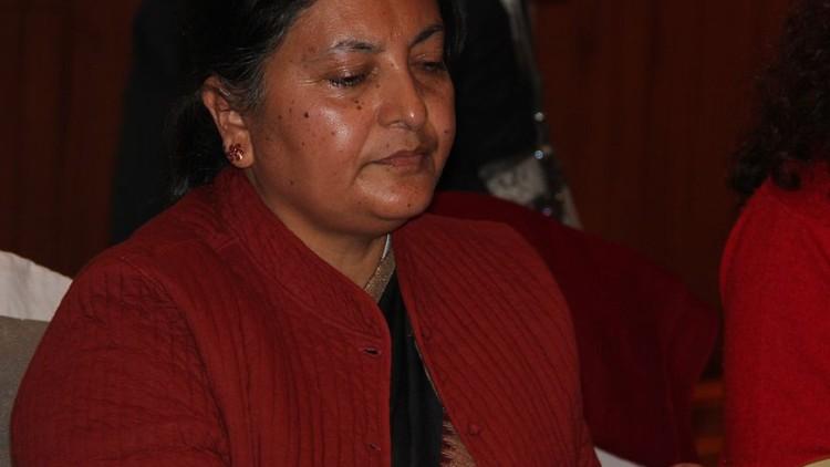 nepal donna presidente