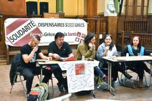 Délégation des dispensaires sociaux solidaires : de la Grèce à Paris