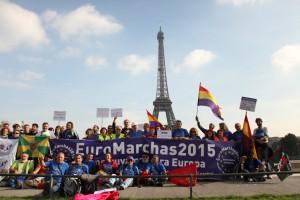 EuroMarchas von Marseille bis Paris