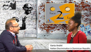Vania Andre  on Face 2 Face