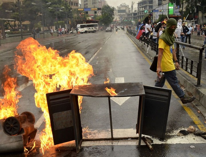 Contro la violenza politica in Venezuela