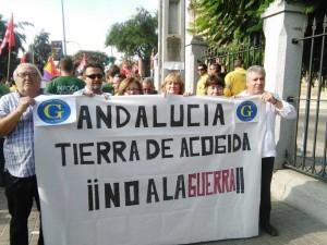 Entrevista: Ganemos Almería dice «No a la guerra»