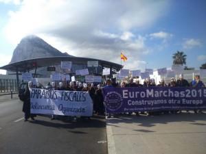 Gibraltar prohíbe la entrada a las EuroMarchas