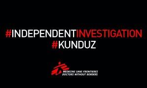 MSF chiede una investigazione indipendente su Kunduz