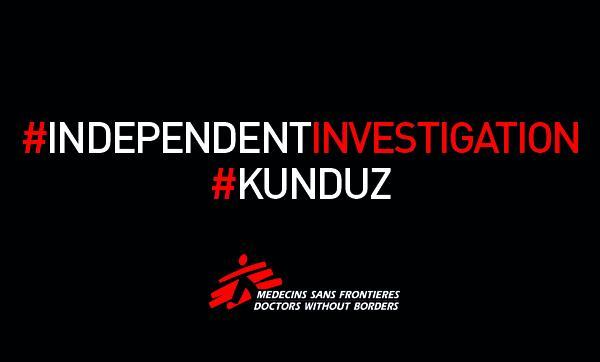 Medici Senza Frontiere MSF Kunduz