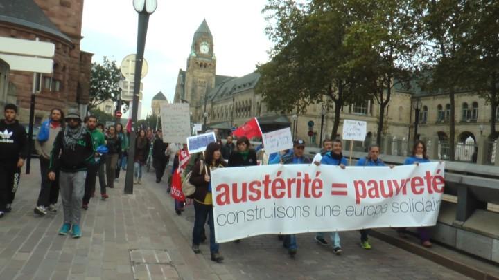 EuroMarchas: llegada a Metz