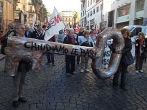 In Naples, national demonstration against Trident Juncture