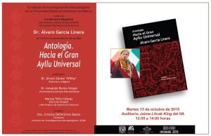 García Linera presenta libro 'Antología, hacia un gran ayllu universal' en México