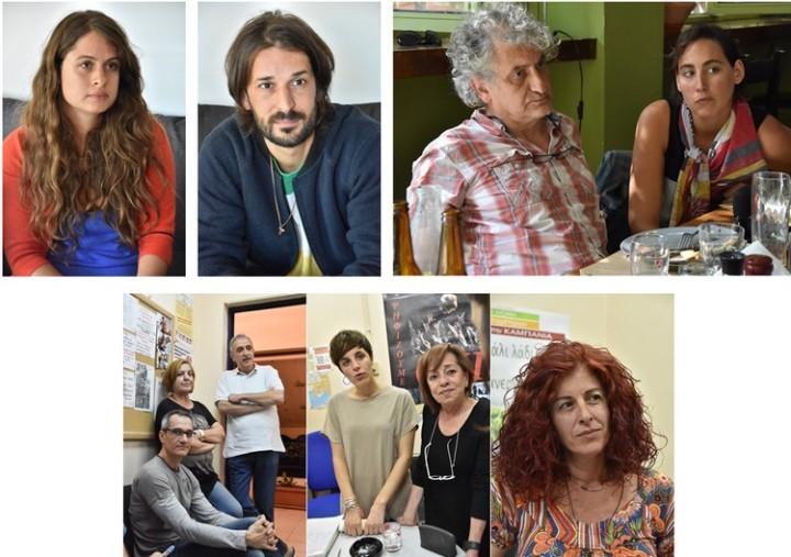 To Pressenza στα γυρίσματα του διαδραστικού ντοκιμαντέρ στην Ελλάδα