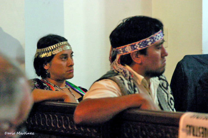 Un juicio con jurados mapuches