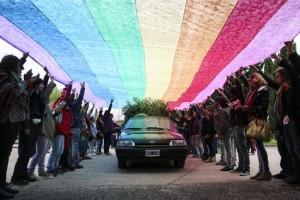 """Adiós a Diana Sacayán: """"Ella dejó un legado, hay que continuar su lucha"""""""