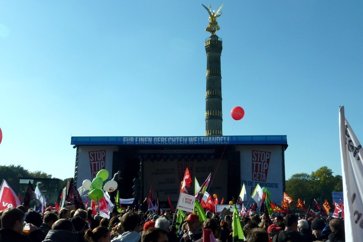 No chance for TTIP and CETA to get the support of German civil society