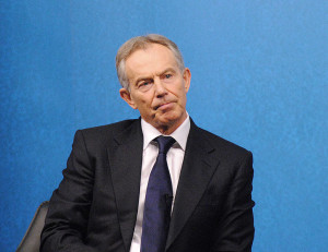 Tony Blair is sorry, a little