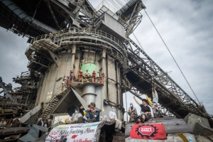 Le coup d'éclat estival des militants anti-charbon allemands