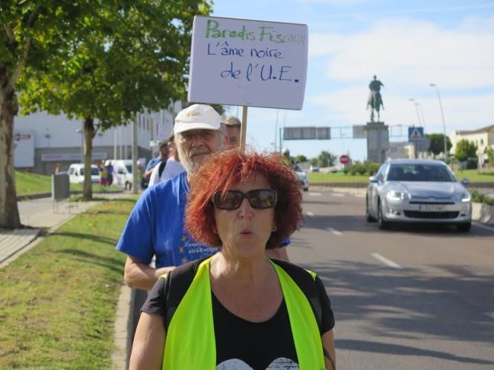 Les EuroMarches dénoncent les grandes surfaces à Mérida