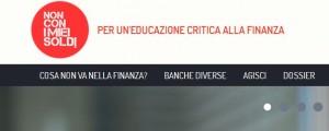 Online il sito di educazione critica alla finanza