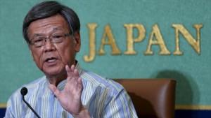 Gobernador de Okinawa anula permiso de construcción de base de EEUU