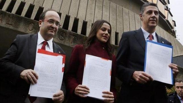 «Tenemos la nevera vacía, pero se rompe España»