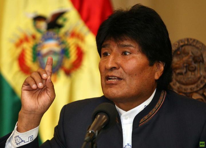 """Evo Morales: """"Quotata l'acqua a Wall Street? L'acqua è per i popoli non per le multinazionali"""""""