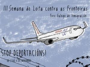 Foro Galego Inmigración pide que A Coruña se declare ciudad libre de CIE's