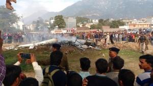Helicopter pilgrims die in crash in India-held Kashmir