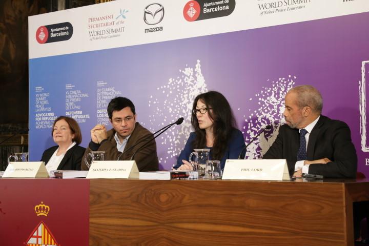 Barcelona acoge la 15ª Cumbre Mundial de Premios Nobel de la Paz