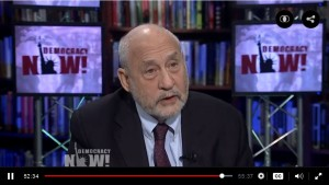 Joseph Stiglitz: Under TPP, polluters could sue U.S. for setting carbon emissions limits