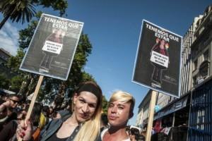 La Marcha del Orgullo reclamó una ley nacional contra la discriminación