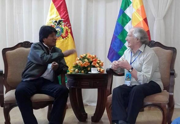 Carta del Nobel de la Paz argentino Pérez Esquivel a Macri