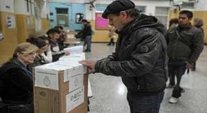 Argentineans are voting for a new President