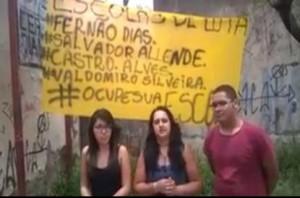 A nova geração convoca mais manifestações em Diadema