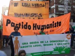 Convocatoria por Ni Una Menos en la Ciudad de Buenos Aires