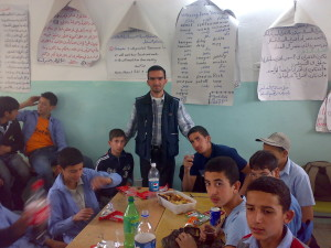 Palestine: the teacher as pivot point for change and challenging trauma