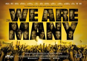 """""""We are many"""", un documentario sulla protesta del 15 febbraio 2003 contro la guerra in Iraq"""