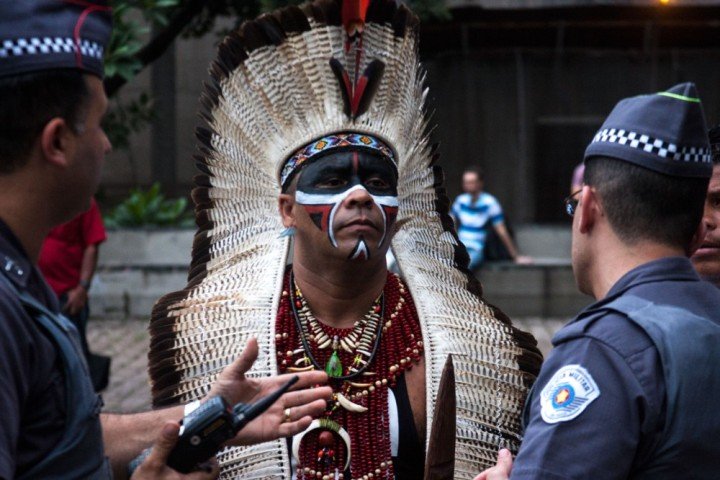 Convergencia de las Culturas con comunidades originarias de Brasil