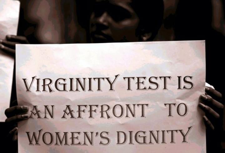 Il test di verginità viola la dignità femminile