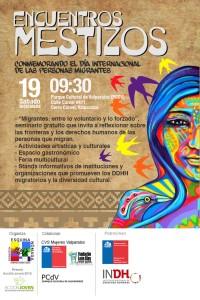 Encuentros mestizos por los derechos humanos migratorios el 19 de diciembre en Valparaíso
