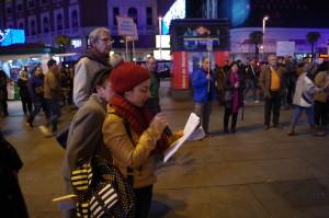 Madrid da lectura a la Declaración de Derechos Humanos y exige que se cumplan
