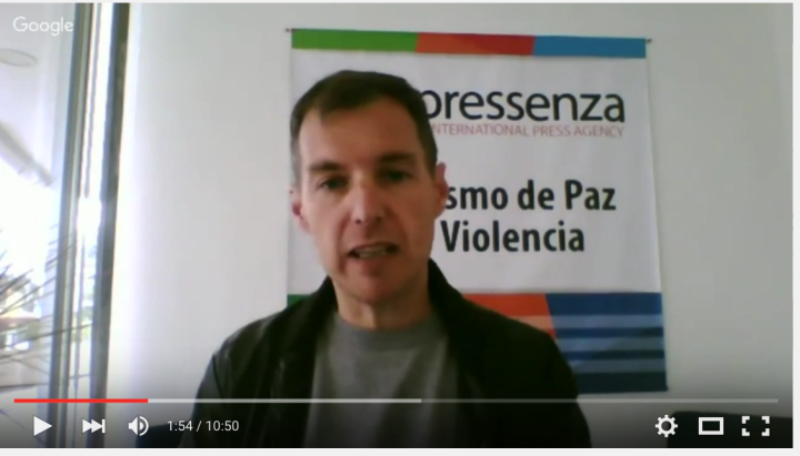 Entrevista con Tony Robinson sobre la aprobación en Ecuador de una Resolución por la prohibición de armas nucleares