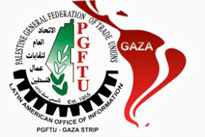 Gaza trade union opens Latin America Office in the city of Che Guevara