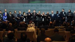 Partes del conflicto en Libia acuerdan formar gobierno de unidad nacional en un mes