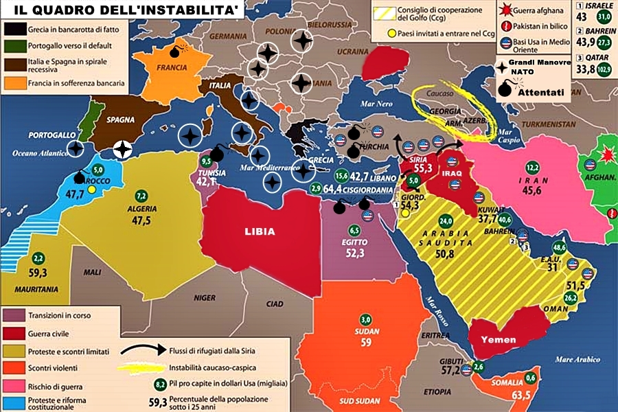 Mappa Conflitti