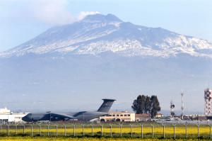 Primo volo per il drone NATO di Sigonella