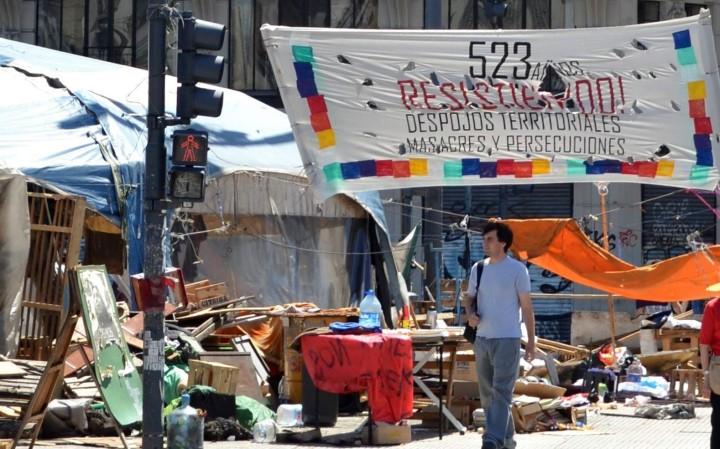 Qopiwini: el acampe se levanta pero la lucha sigue