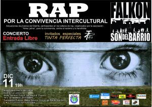Rap por la convivencia y contra el racismo