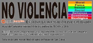 PH: últimos días de campaña ¡Vota no violencia!