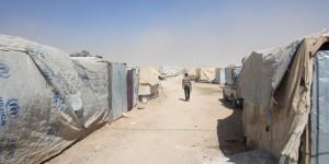 Jordanien:  Mehr als 10'000 Flüchtlinge bei eisiger Kälte im Niemandsland gestrandet