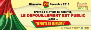 In Burkina Faso  vince la democrazia